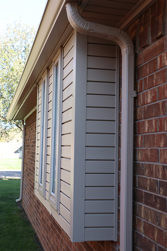 Texas Plains Gutter Installation and Repair
